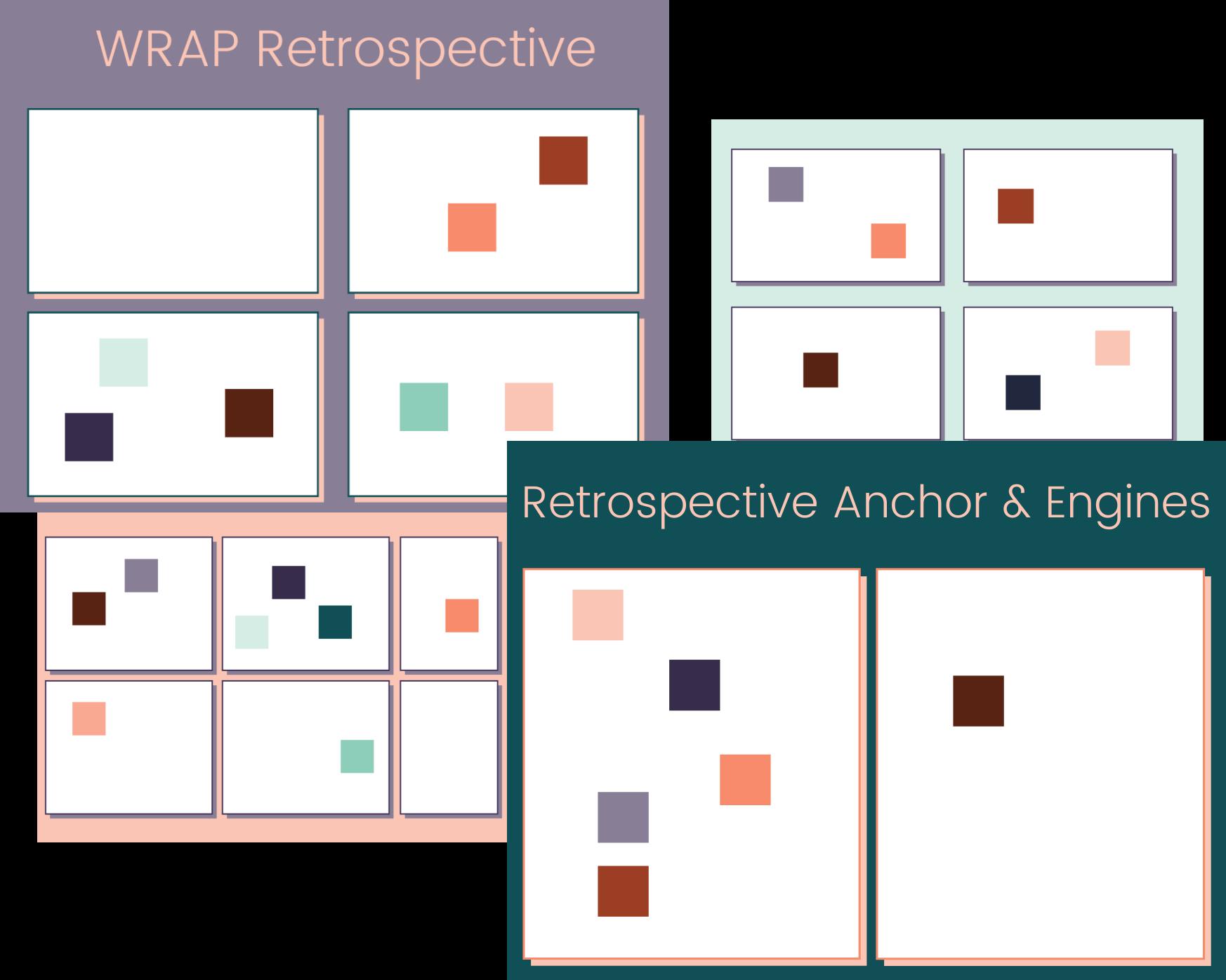 Online retrospective templates