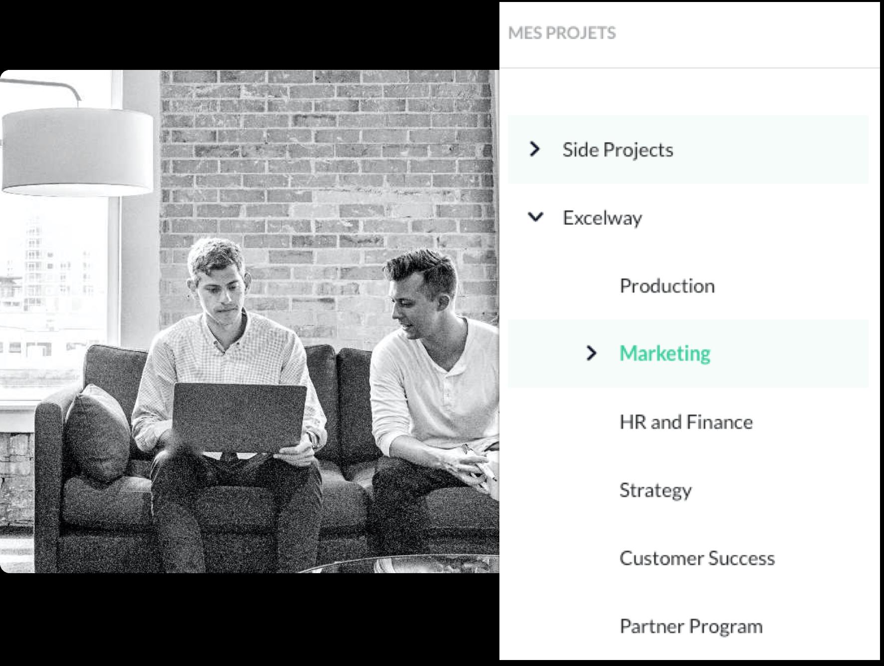 photo montrant la gestion des projets de product management